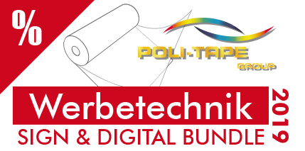Werbetechnik: SIGN & DIGITAL BUNDLE 2019