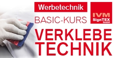 BASIC-KURS Verklebetechnik in Emsdetten